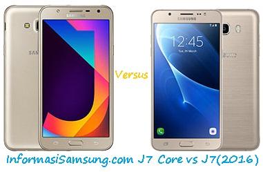 Perbandingan Harga dan Spesifikasi Samsung J7 Core vs J7 (2016)