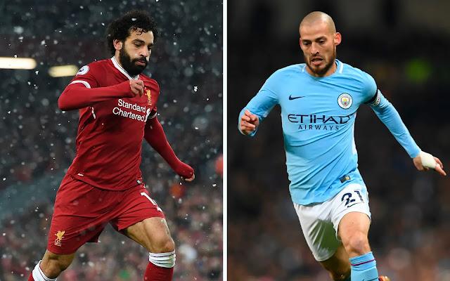 Prediksi Liverpool vs Manchester City, 04 April 2018