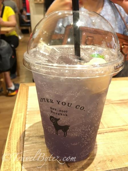 Lavender Lychee Soda