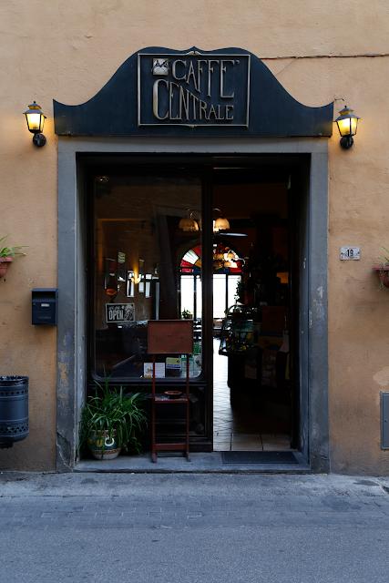 Caffe Centrale, San Miniato Tuscany, Italy