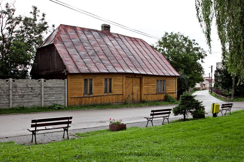 Bodzentyn, świętokrzyskie, góry, Świętokrzyski Park Narodowy, zagroda czerniakiewiczów