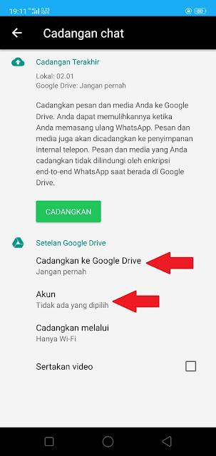 Jangan Mencadangkan Chat WhatsApp