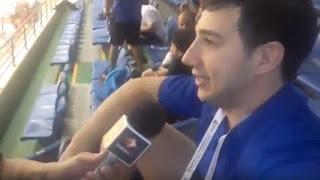 Luego de la victoria ante Italia, el jugador de la Selección Argentina dio su opinión a Diario Huarpe.