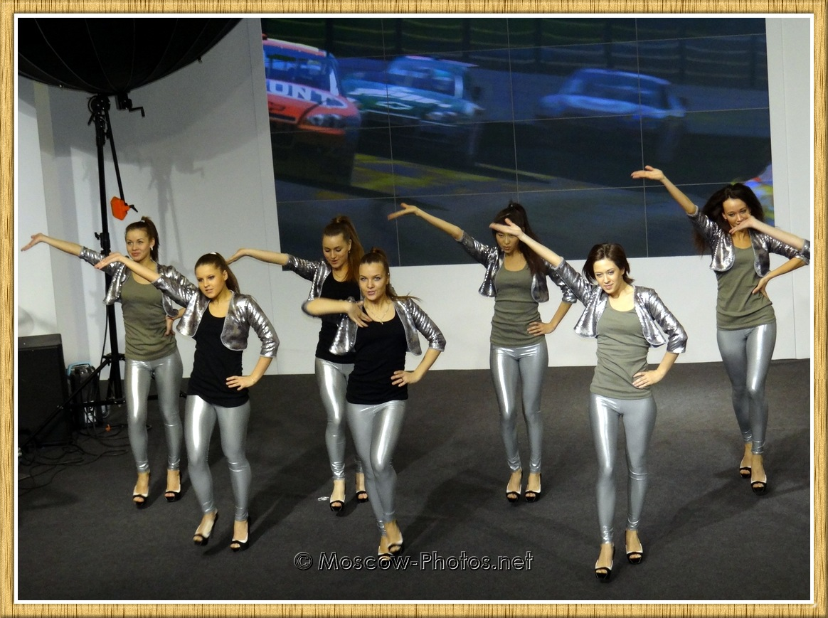 Dancing Girls In Silver Pants at Photoforum - 2011