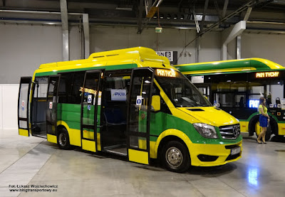 Mercedes-Benz Sprinter, CUBY City Line, PKM Tychy