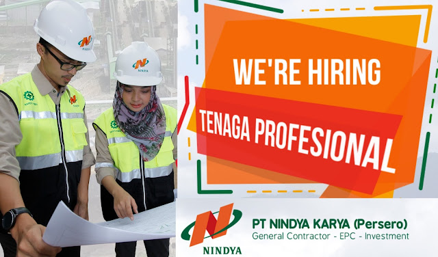 Lowongan Kerja BUMN PT NINDYA KARYA (Persero) Tahun  2017