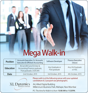 XL Dynamics Mega Walkin Drive On 2nd February, 2017