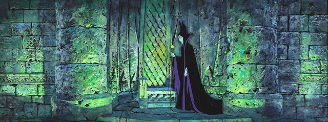Eyvind Earle background for Disney