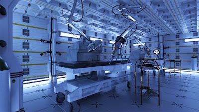 Futuristic Laboratory