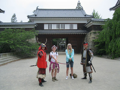 Ueda Castle, Nagano, Japan.