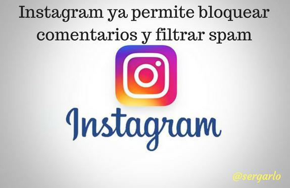 Instagram, redes sociales, social media, comentarios, filtro, bloqueo
