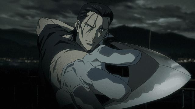 Gatotsu adalah jurus andalan Saito
