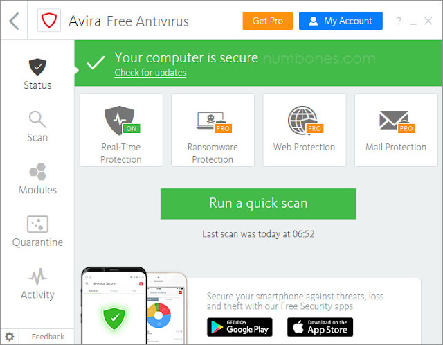 Avira AntiVir Personal Edition | Antivirus: Definition,Types, and Examples