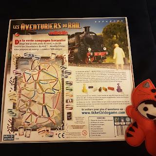 Les Aventuriers du Rail Allemagne verso