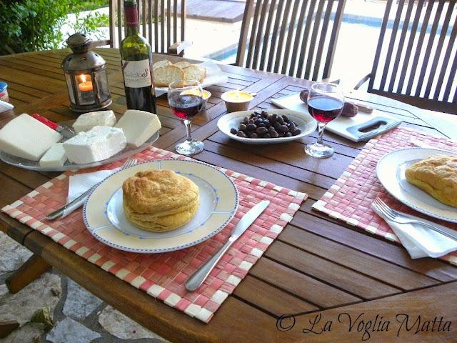 cena a  Villa Kalogris  isola di Cefalonia