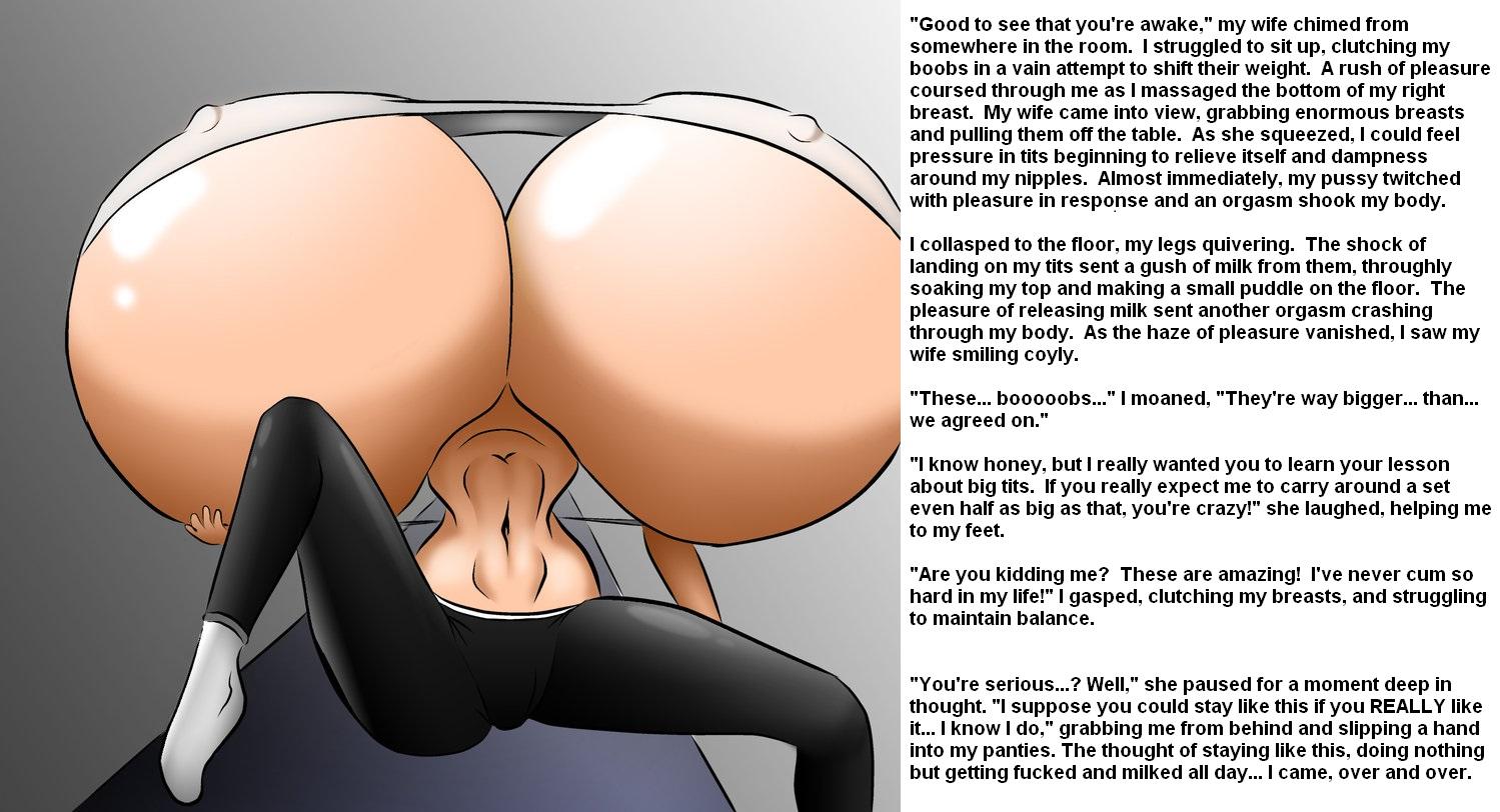 big breasts lactating
