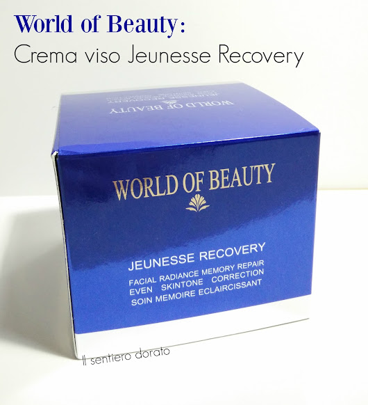 [Review World of Beauty]:Jeunesse Recovery Crema viso.