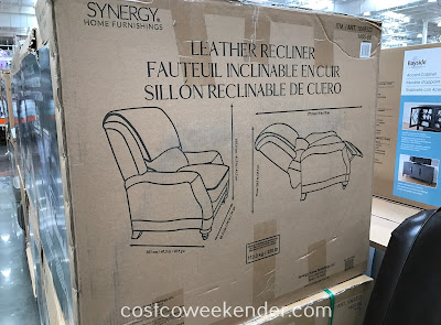Synergy Home Furnishings Leather Recliner: the perfect chair for any room