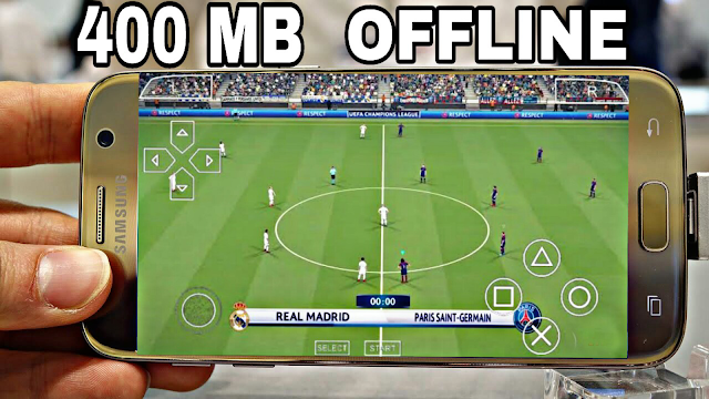 DOWNLOAD PES 2018 Offline 400 MB Best Graphics (Android/IOS