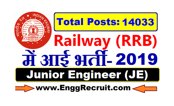 RRB JE Syllabus and Exam Pattern 2019