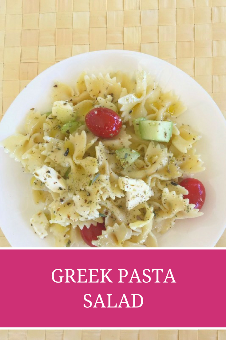 Greek Pasta Salad recipe - Ioanna's Notebook