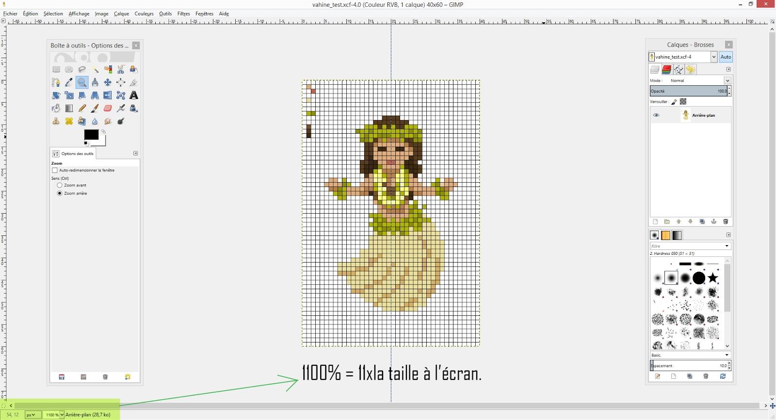 Ta P Ixel Pixel Art Agrandir Imprimer 1