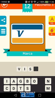 Iconica Italia Pop Logo Quiz soluzione pacchetto 3 livelli 12-50