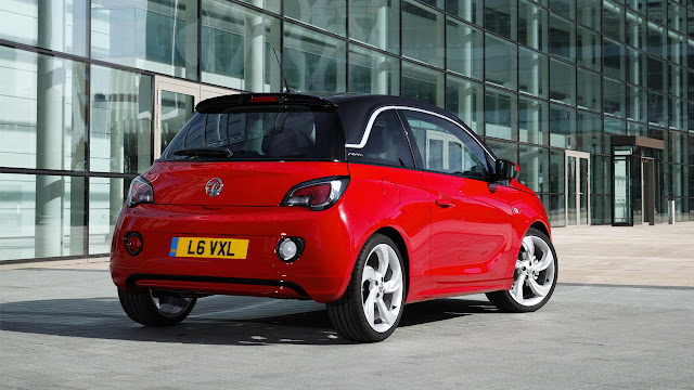 Vauxhall Adam back