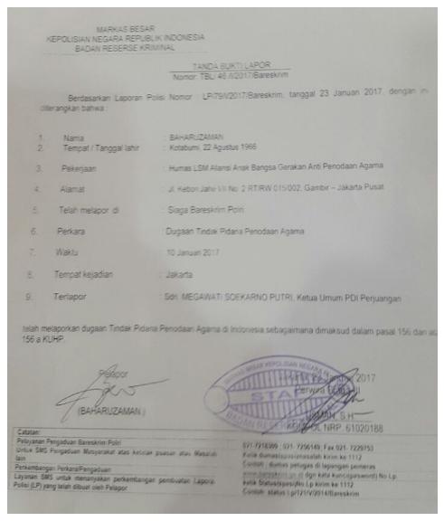 Megawati Soekarno Putri Resmi dilaporkan ke Polisi tepat di Hari Ulang Tahun yang ke 70