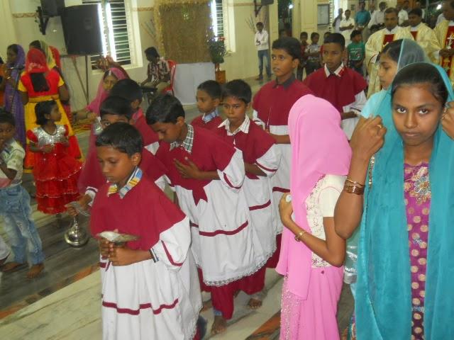 MURASANCODE PARISH: Elanthavilai: Feast - Day Nine - 28/12/13