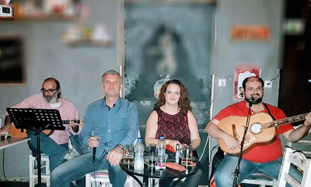 """Live ρεμπέτικη μουσική στην ταβέρνα """"Τα Φιλαράκια"""" στο Κουτσοπόδι"""