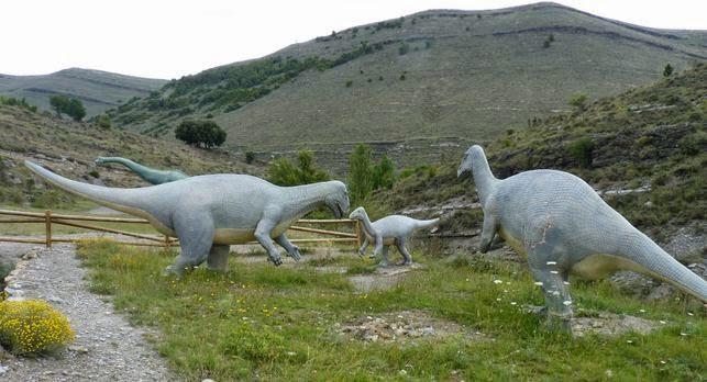 La Senda de los Dinosaurios de Enciso.