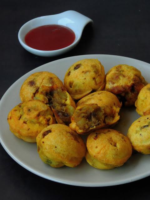 Dhingri Aloo Batata Vada
