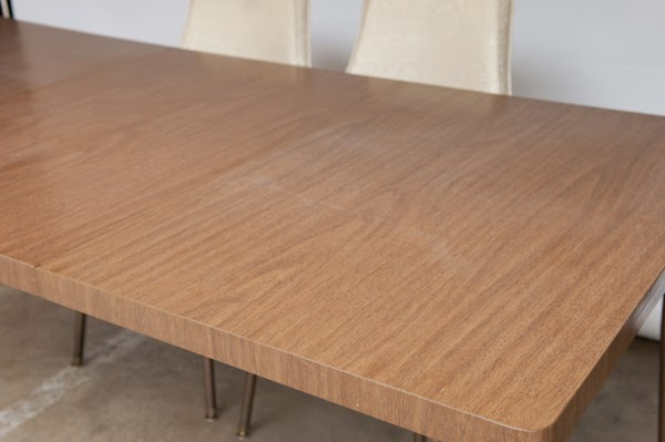 Heygreenie 60 S Vintage Walter Wabash Formica Table Top Modern Desk Dining Table