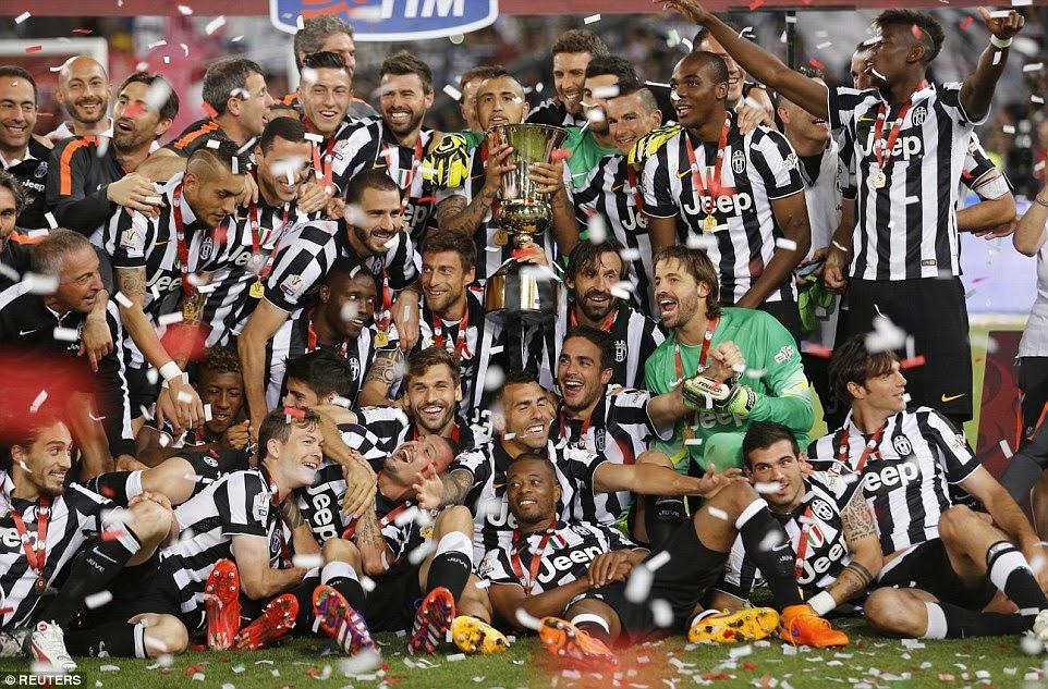 FOTO La Juventus ha vinto la sua decima Coppa Italia