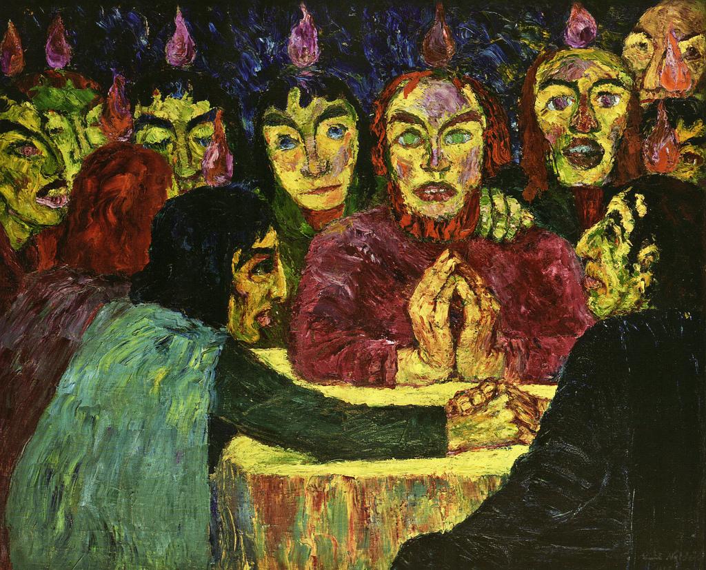 Pentecostés de Emil Nolde