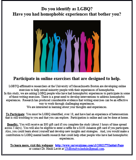 BiNet USA's Blog: The LGBTQ UMass Boston Advocacy and Research
