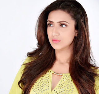 Bidya Sinha Saha Mim Cute In Yellow Dress