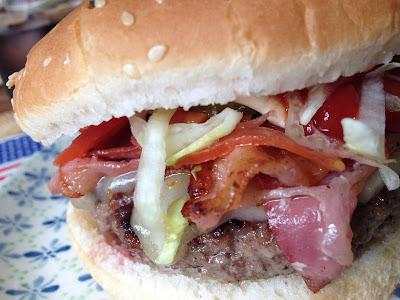 American burger 🍔 - Receta americana - Hamburguesa clásica - Receta hamburguesa - el gastrónomo - el troblogdita