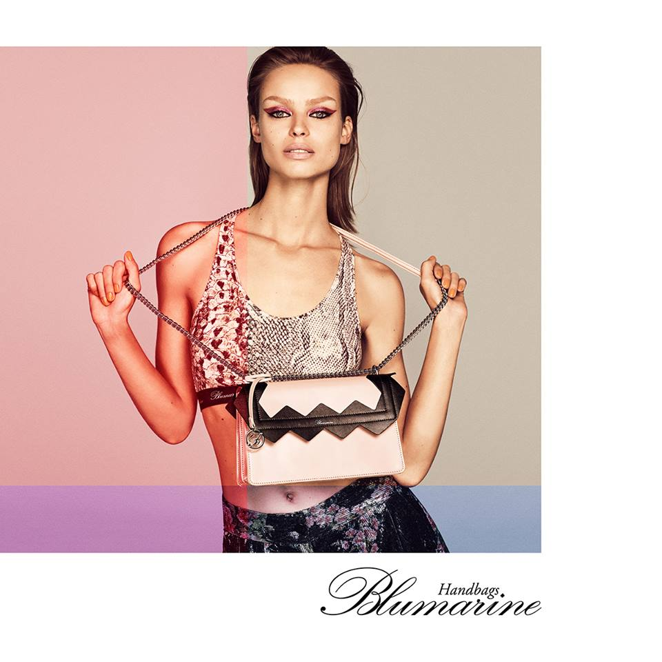 06a22011bc0f Italian fashion house Blumarine brings forth its Spring/Summer 2019  Campaign featuring top model Birgit Kos. The brunette model is a fiery and  sensational ...