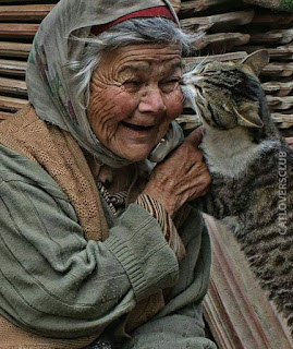 Cat and Grandma