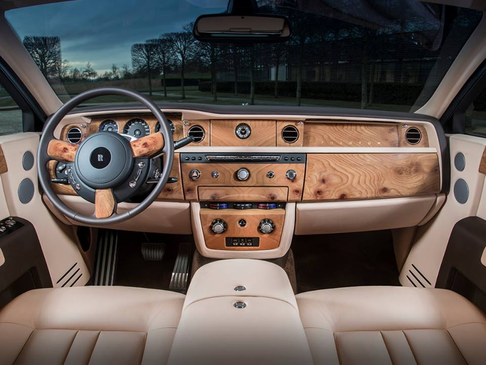 RollsRoyce Reveals Special Sunrise Phantom An Automotive