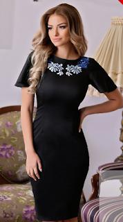 Comanda aceasta rochie neagra Diva de aici