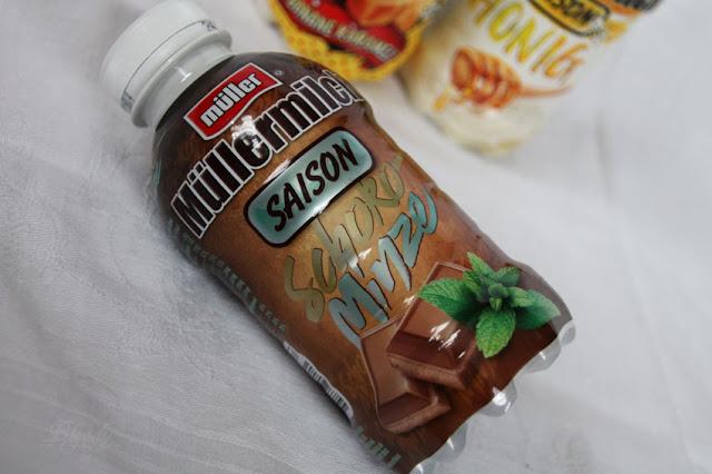 Müllermilch der Saison - Schoko Minze