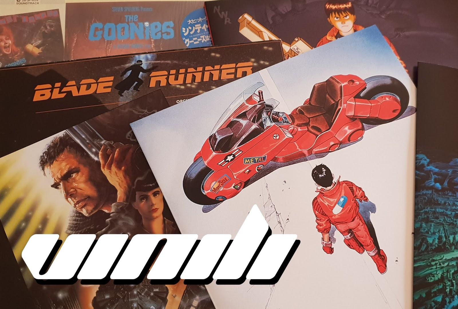 Vinili da collezione Akira Goonies Bojack Stranger Things Blade Runner