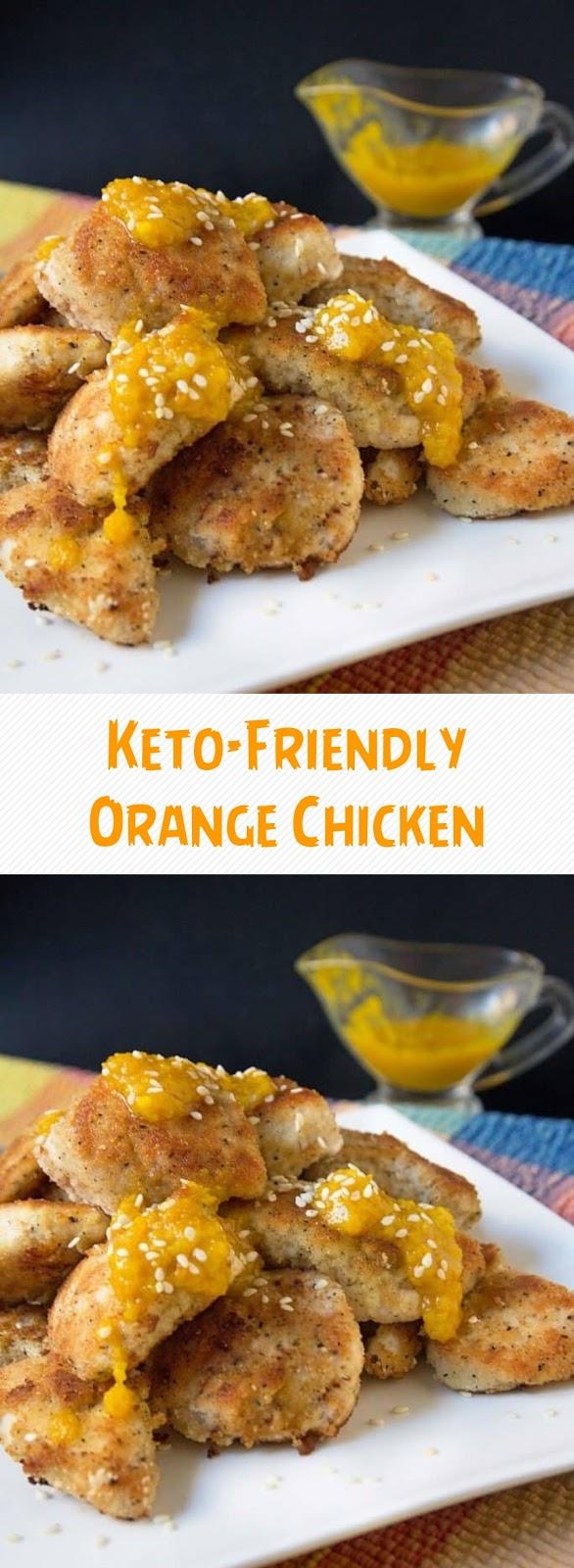 Keto-Friendly Orange Chicken