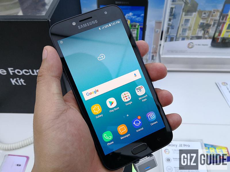 Huawei Y6 2018 vs Samsung Galaxy J2 Pro (2018) Specs Comparison