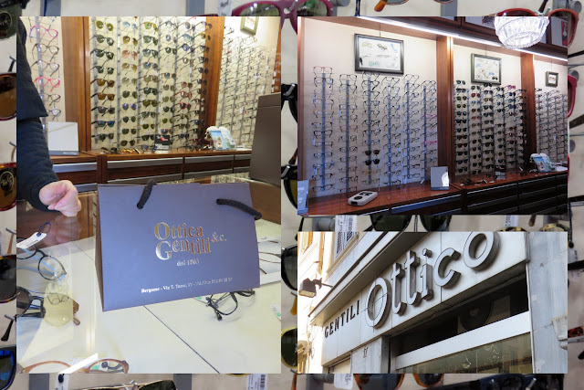 Things to do in Bergamo Italy: Shopping for Glasses