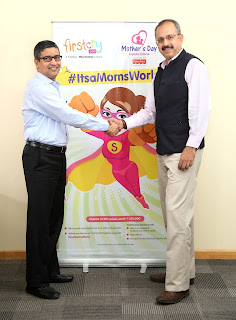 Supam Maheshwari, Founder, CEO FirstCry.com and Ishmeet Singh, Country Manager- India, Mattel Inc-min