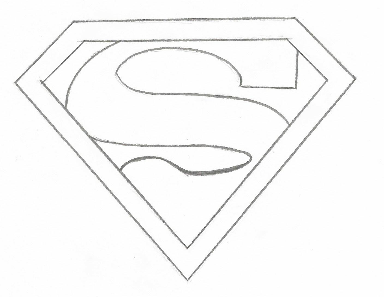 Atemberaubend Superman Symbol Malvorlagen Galerie - Malvorlagen ...